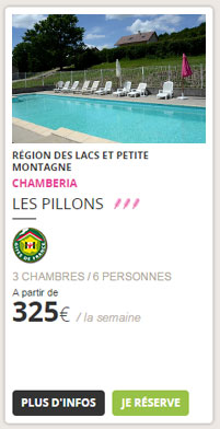 Les Pillons, Chamberia